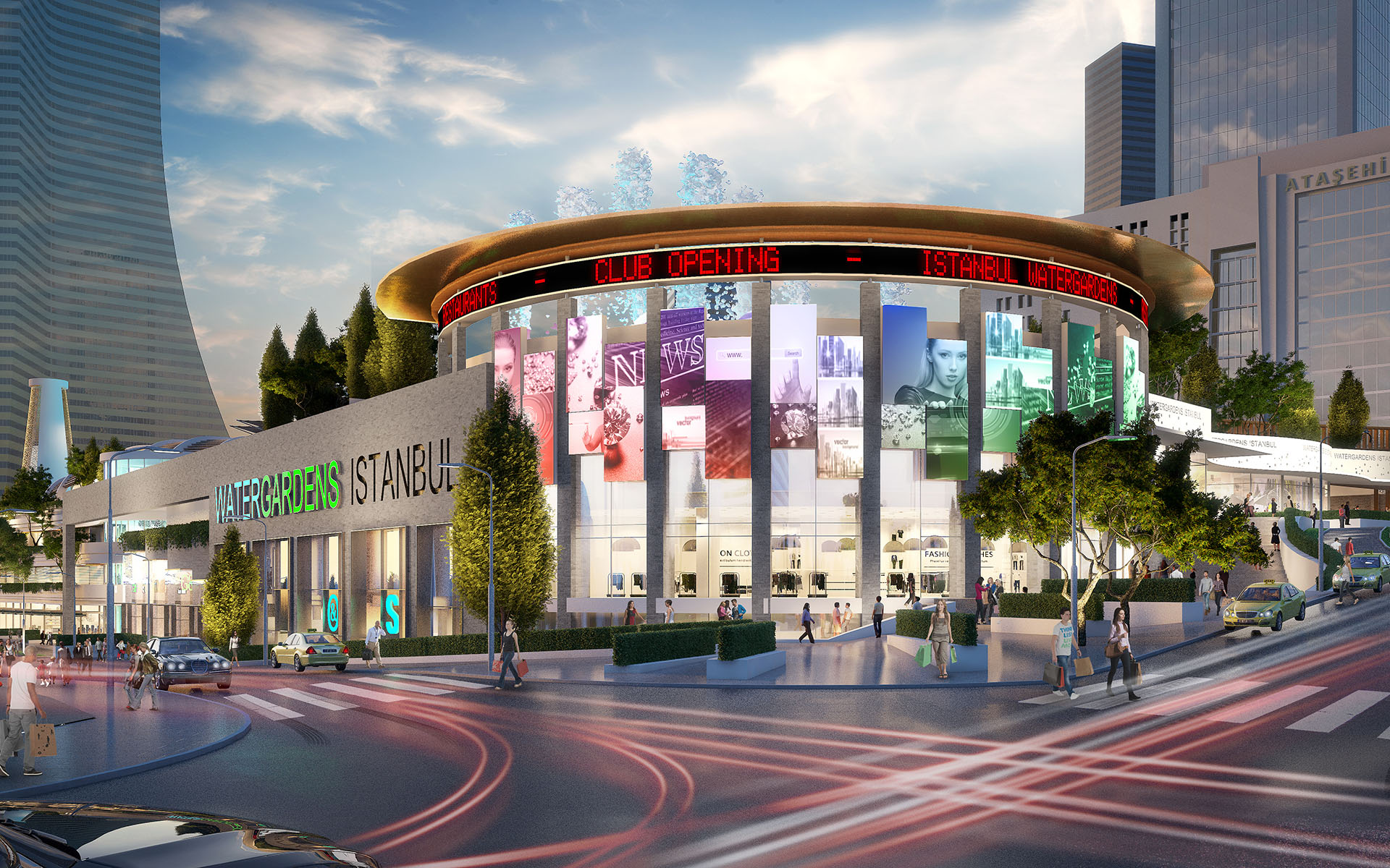 Watergardens Istanbul Tconcept Tconcept
