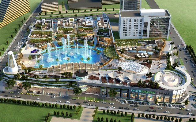 Watergardens istanbul tconcept tconcept for 400 garden city plaza