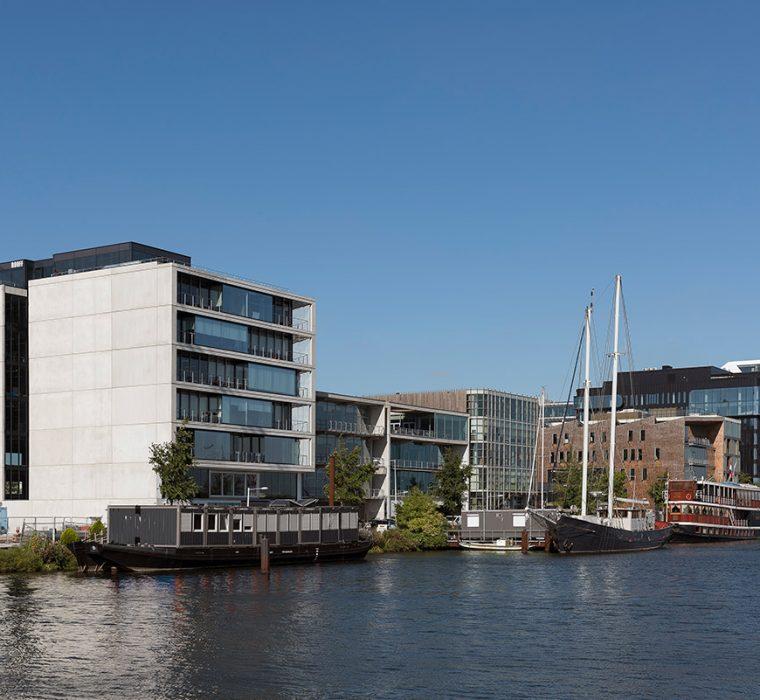 Office Building Amsterdam Netherlands Danzigerkade TconcepT