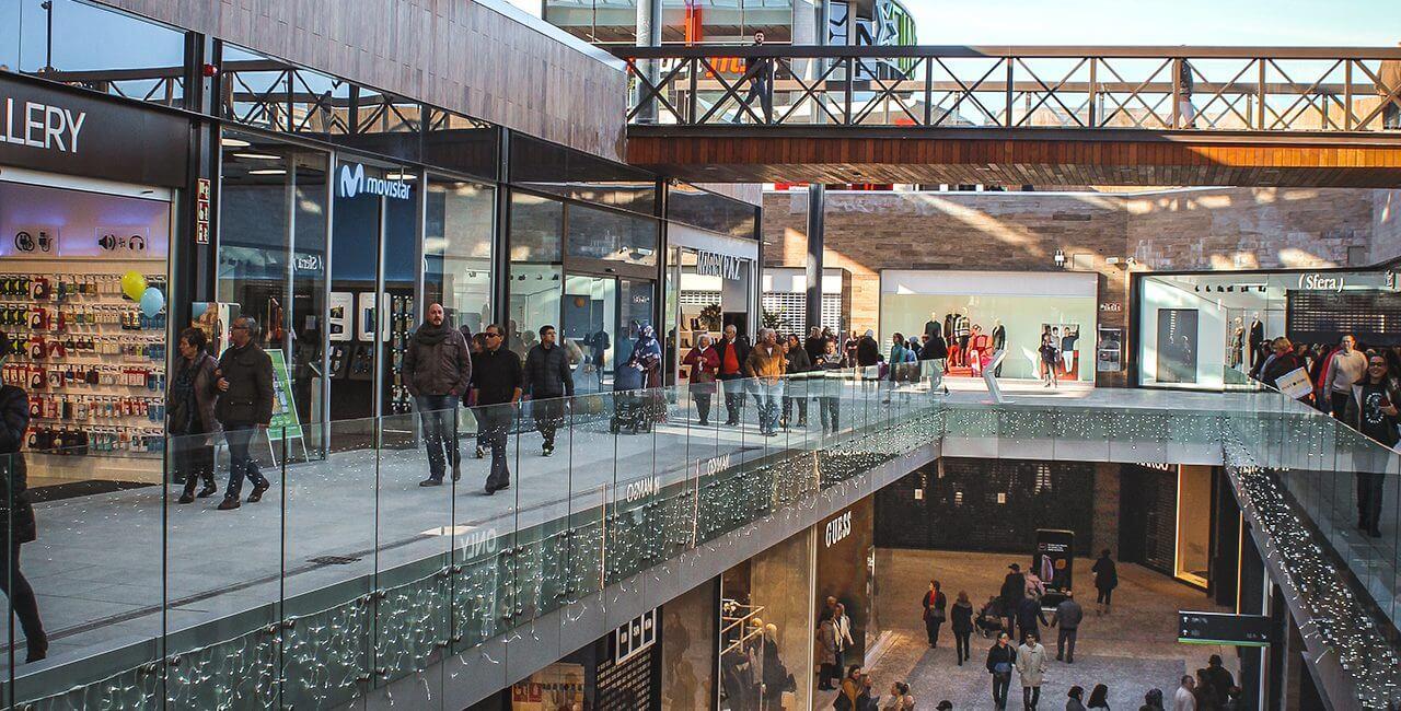 finestrelles shopping mall tconcept new construction spain barcelona