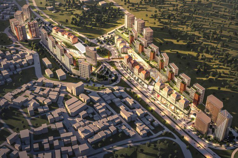 Istanbul Pendik Turkey Mixed-Use Retail Hotel Offices Housing TconcepT