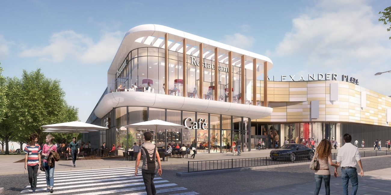 ukraine alexanderplaza retail shopping mall new project