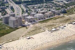 kijkduin housing netherlands beach